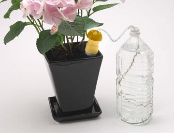 自動給水器 自動水やり器 水やり当番 Lサイズ×2個 旅行 留守 ベランダ プランター 菜園 ダリヤ