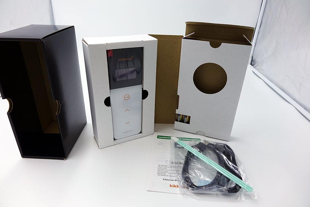 キッコーマンバイオケミファ ATPふき取り検査 ルミテスター Smart 測定器 測ったその場で結果がわかる HACCP対応
