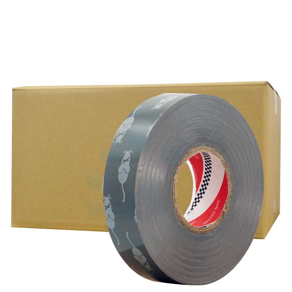 【お買い得!ケース購入】防鼠ビニルテープ [19mm×20m×200巻]