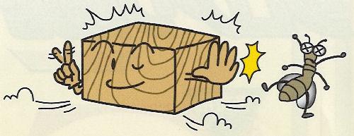 油性木材防蟻防腐剤 防虫 防カビ スーパーシロアリ退治 オレンジ 4L×2本 ケミプロ化成