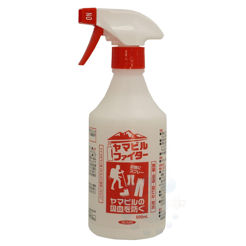 ヤマビルファイター 500ml ヤマビル ヒル防除剤 【業務用サイズ】