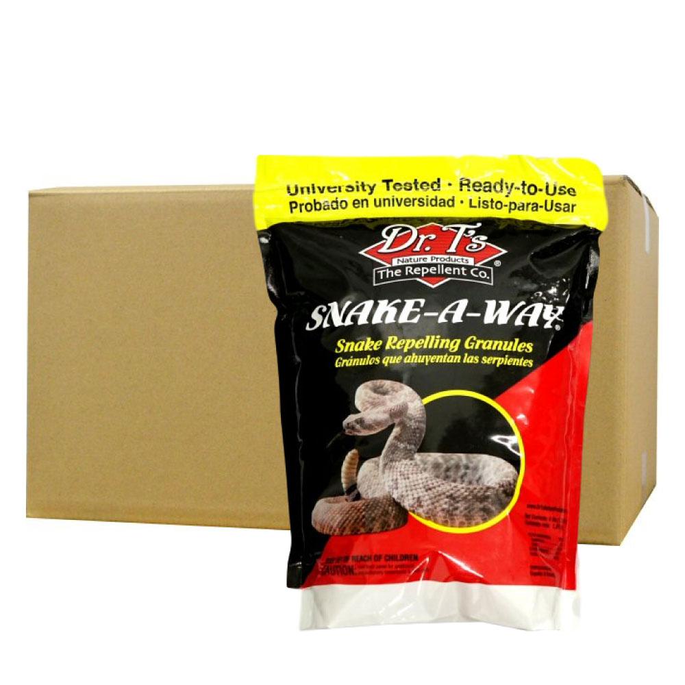 ケース購入がお得! スネークアウェイ 1.8kg×6袋 【蛇(ヘビ) 忌避剤】