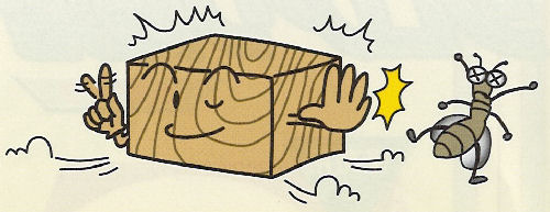 油性木材防蟻防腐剤 防虫 防カビ スーパーシロアリ退治 オレンジ 15L×2本 ケミプロ化成