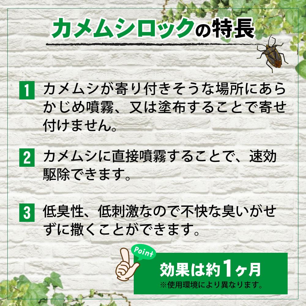 カメムシ専用殺虫剤 カメムシロック 1L 蓄圧式噴霧器 4L セット 業務用 カメムシ侵入防止 カメムシ退治 クサギカメムシ マルカメムシ