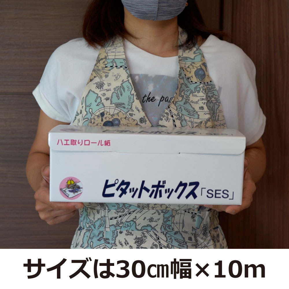 ハエ捕獲 ピタットボックス  「SES」 1ロール 大型ロール式ハエ取り紙