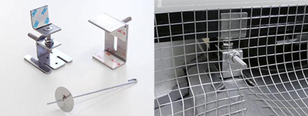 太陽光パネル鳥害対策 バードブロッカー フック金具
