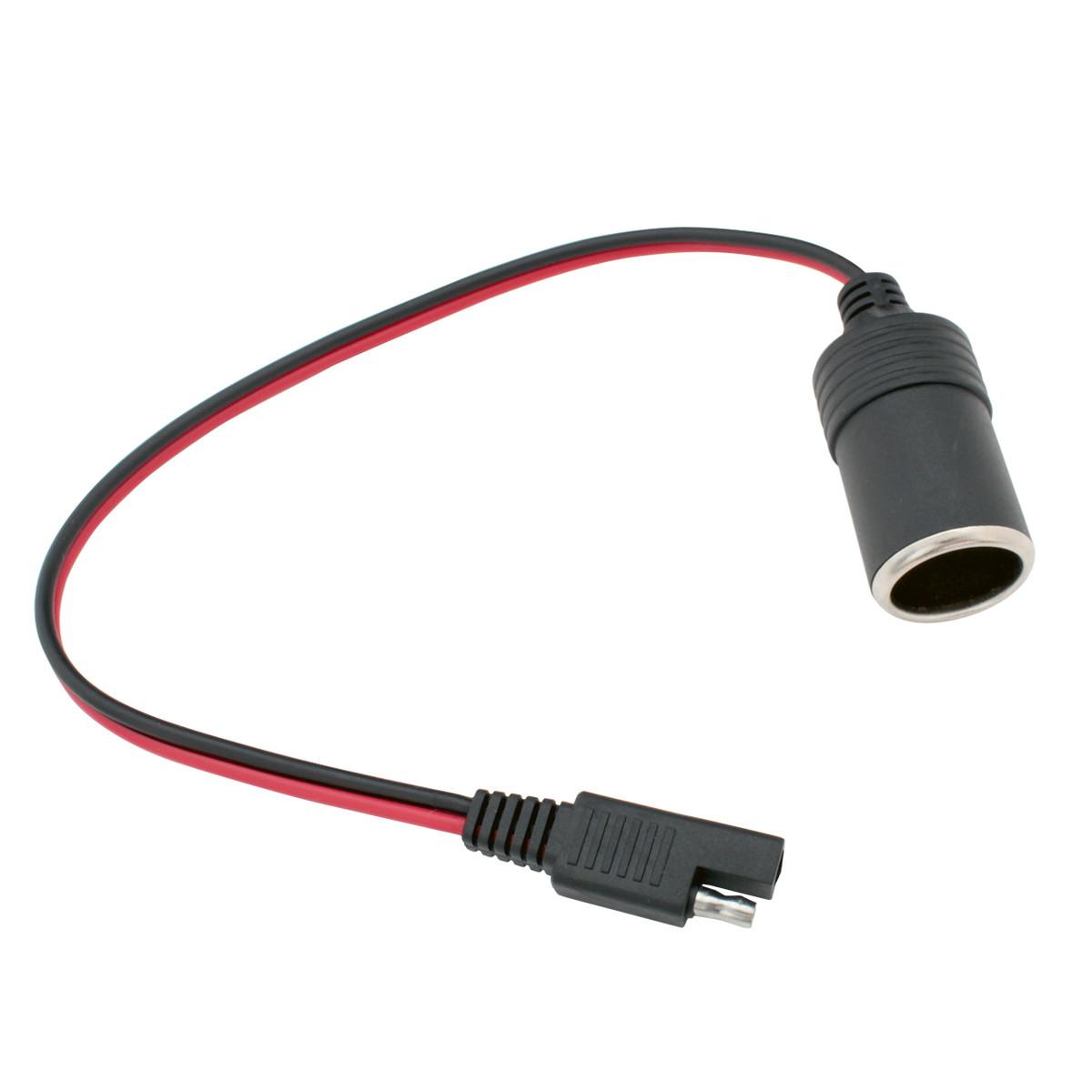6079(1個) 4.5mm (0.5〜2sq) ギボシ端子接続用 シガーソケット(メス) 12V/10A