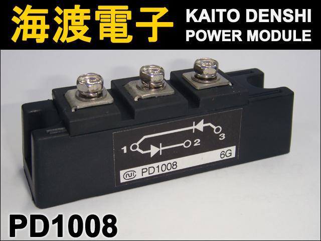 PD1008 (1個) パワーダイオードモジュール 日本インター 【中古】