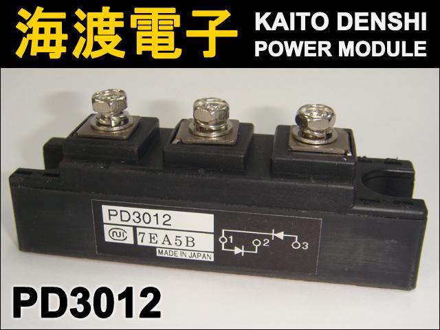 PD3012 (1個) パワーサイリスタモジュール 日本インター 【中古】