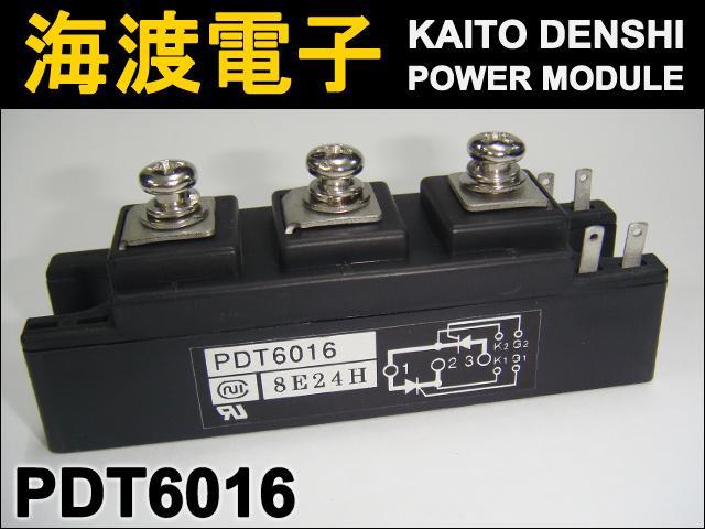 PDT6016 (1個) パワーサイリスタモジュール 日本インター(1個 中古