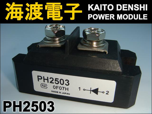 PH2503 (1個) ダイオードモジュール 日本インター 【中古】
