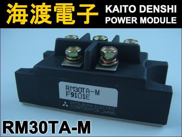 RM30TA-M (1個) パワーダイオードモジュール〉 MITSUBISHI 【中古】