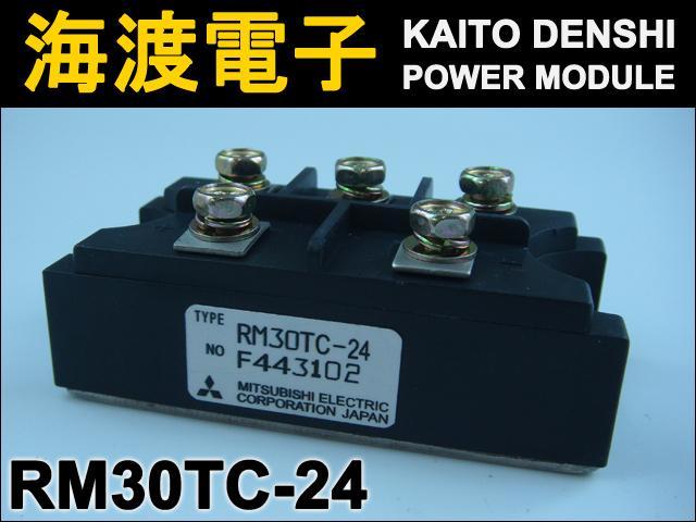 RM30TC-24 (1個) パワーダイオードモジュール〉 MITSUBISHI 【中古】