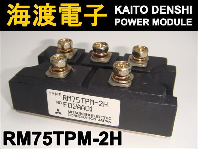 RM75TPM-2H (1個) パワーダイオードモジュール〉 MITSUBISHI 【中古】