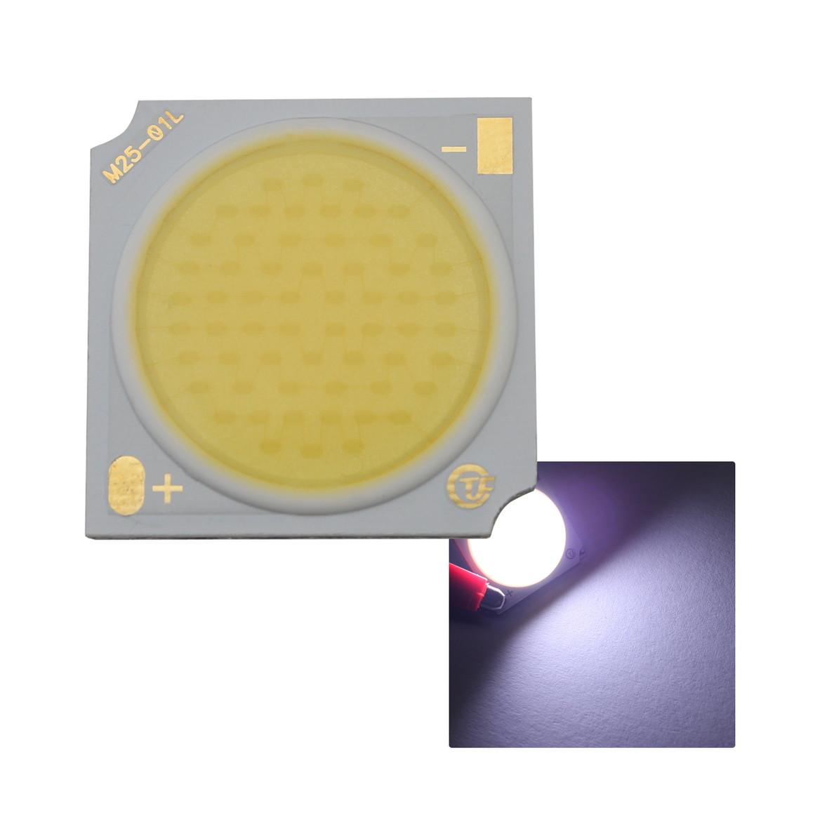 8586(1個) COB ショーケース用 LED (プラチナ) 1919 (30W) 8000-10000K 110-120LM/W 30-34V 960mA 90Ra