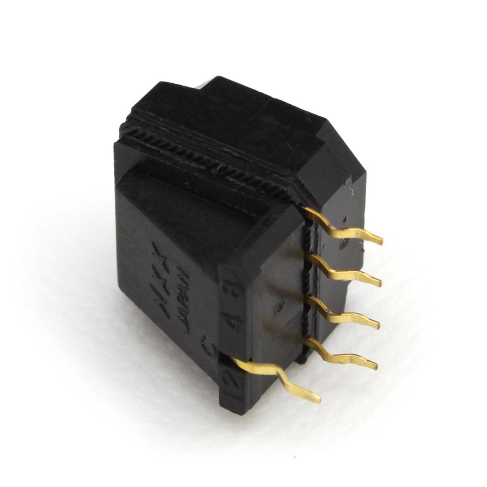 [s148] DR-FR10H NKK Switch ロータリーディップスイッチ (1個)