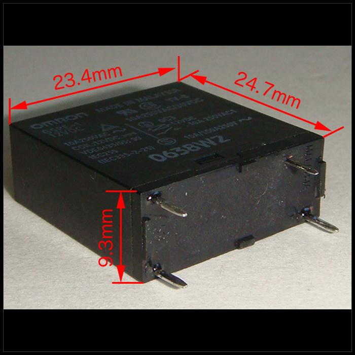 Kaito7472(100個) リレー 12VDC G5PE-1 [OMRON]