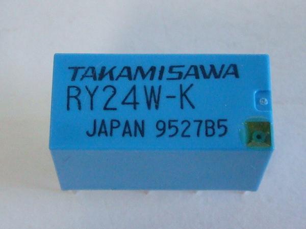 Kaito7478(100個) リレー 24VDC RY24W-K [Takamisawa]