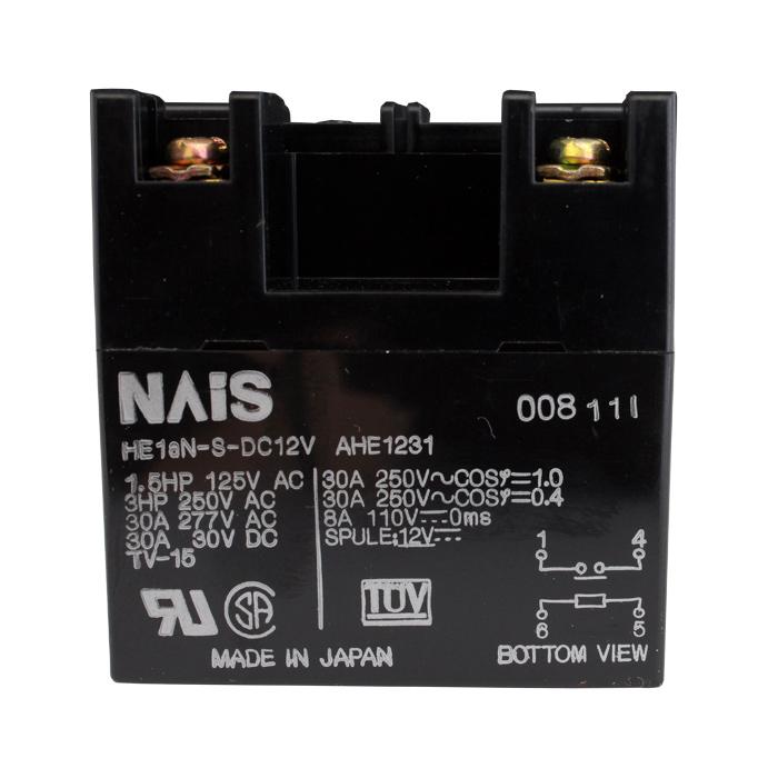 [s158] Relay (HE1aN-S-DC12V) 12VDC Panasonic (1個)