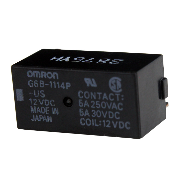 [s159]  Relay (G6B-1114P-US) 12VDC OMRON (1個)