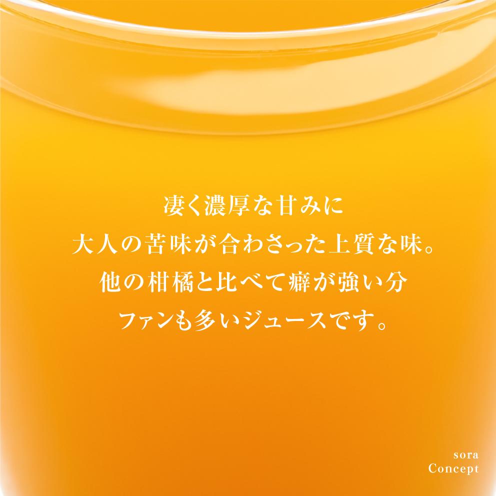 そらのはるかジュース【農家直送/甘絞り】