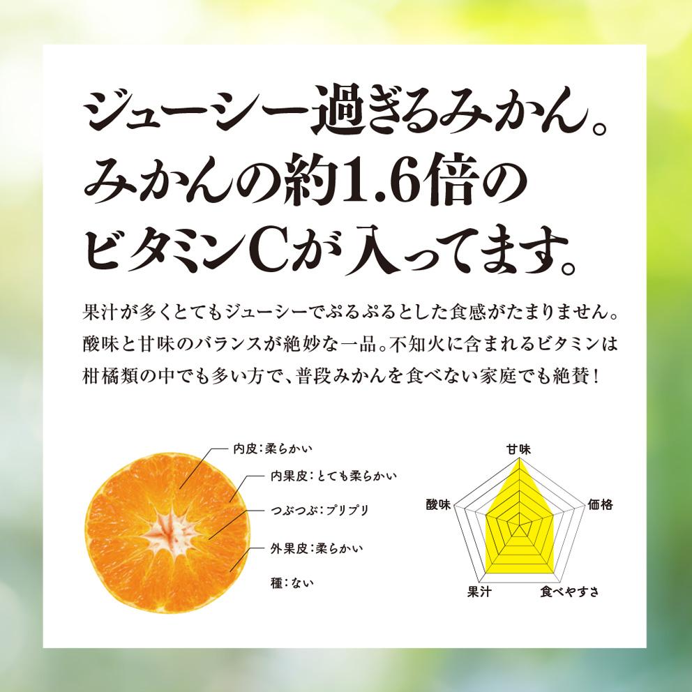 そら不知火【農家直送/訳あり】4kg 送料無料