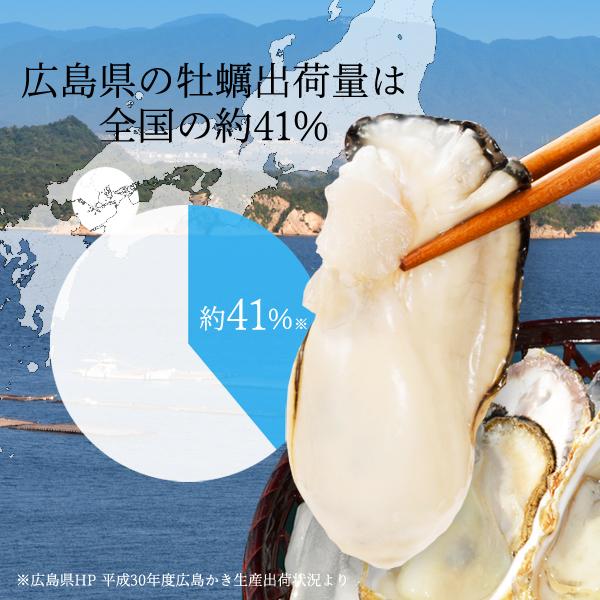 広島牡蠣老舗の味!特選 むき身牡蠣800g[生食用]