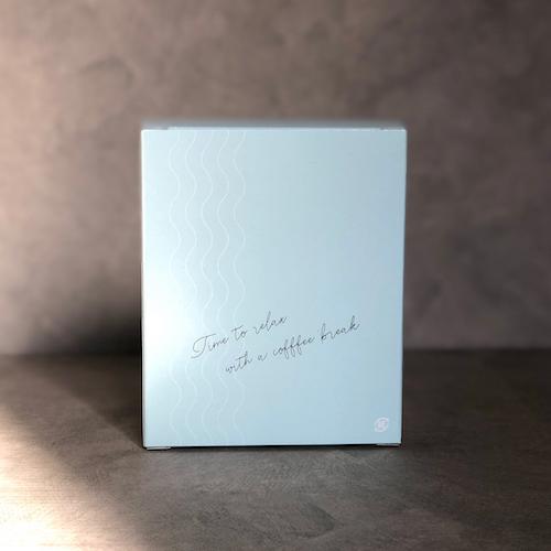 [ギフト箱] オリジナルドリップバック/ブルー×5P
