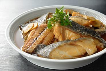 特大銀鮭カマ尾肉漬け【味噌】8切