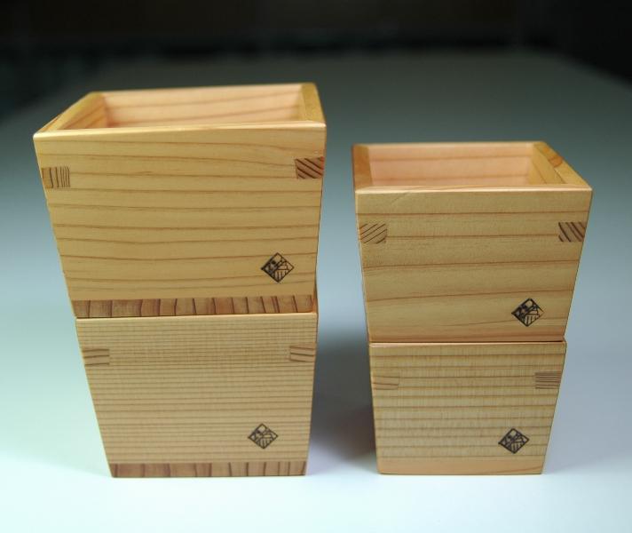 以為 日光杉 酒器シリーズ omoeraku Sake Japan