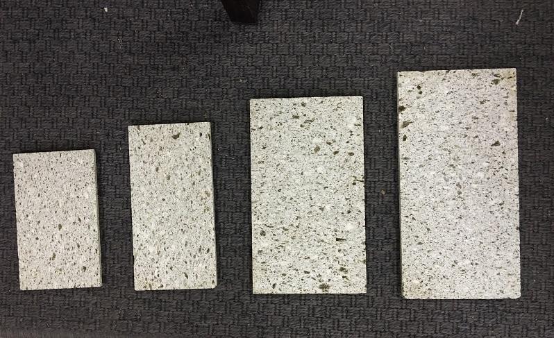 大谷石 強化コーティングプレート