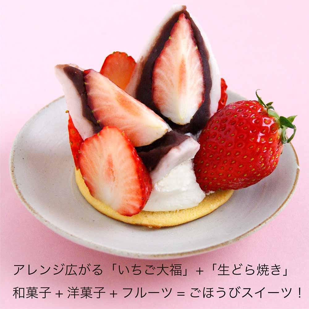 【数量限定】極みのいちご大福6個