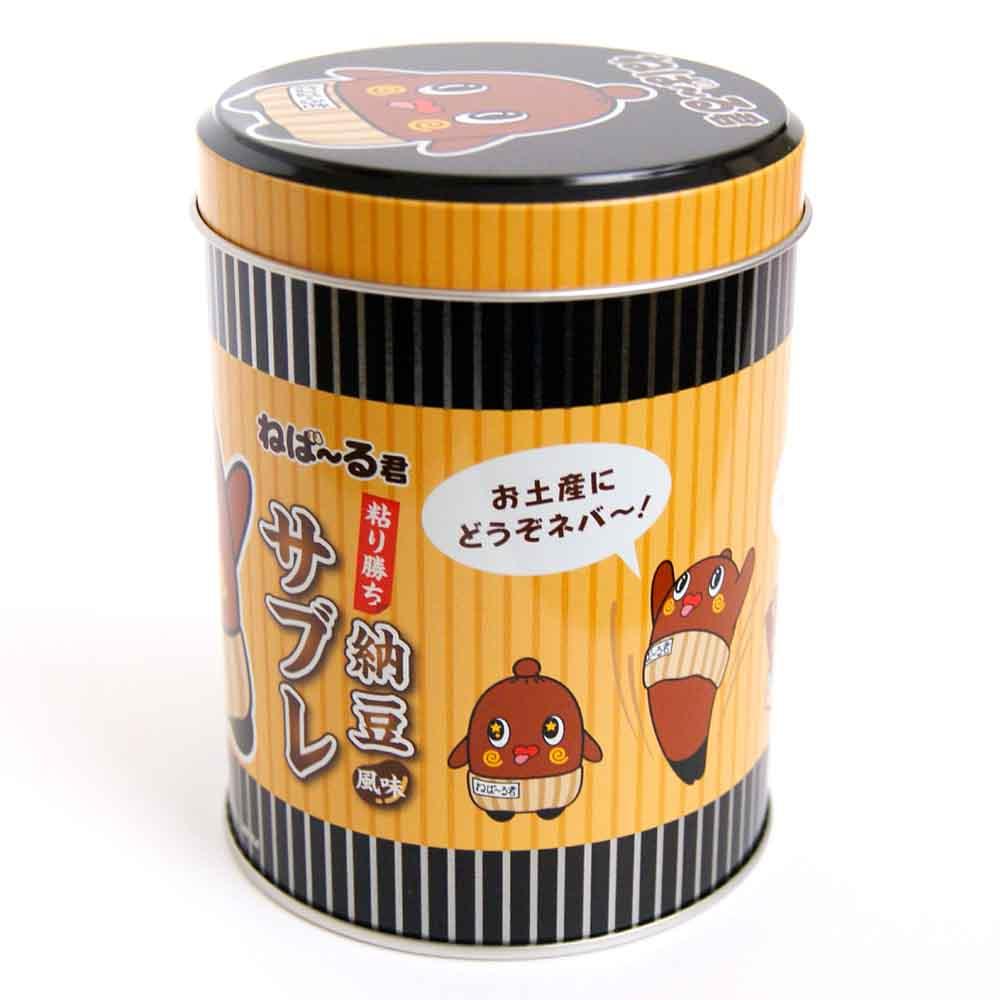 【プレゼント!】ねば〜る君サブレ缶