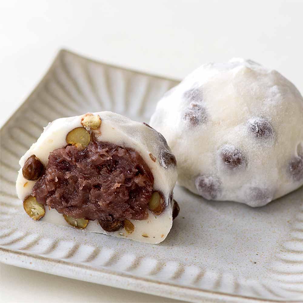 【季節限定】よもぎ豆大福(6個入)