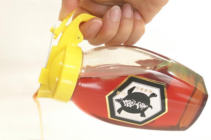 【送料無料】 亀蜜原液450gと専用キャップセット