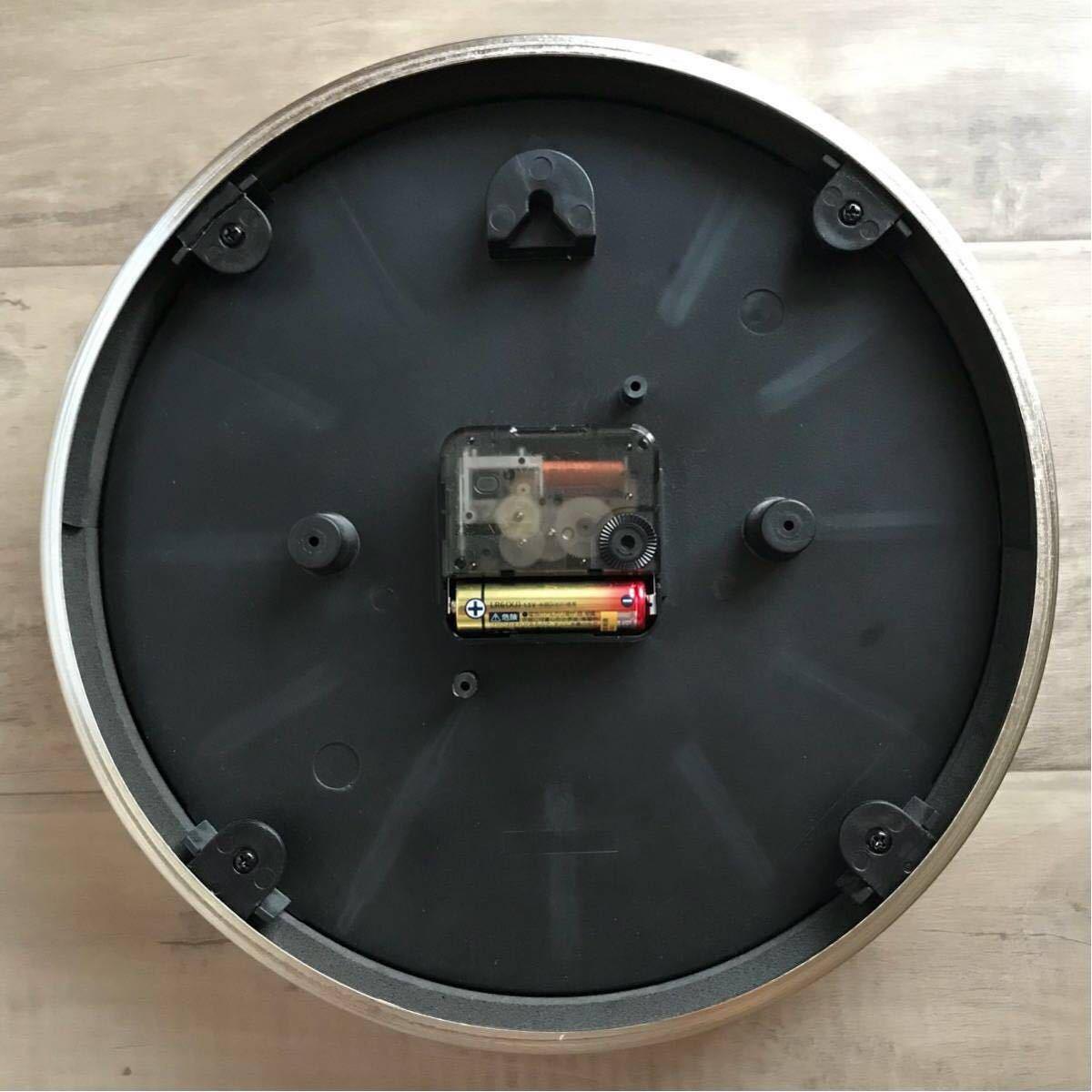 ★激レア★ シャーク ウォール クロック 掛け時計 a bathing ape bape bapex shark wall clock エイプ ベイプ アベイシングエイプ 時計 赤