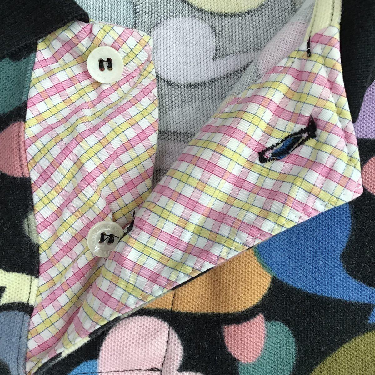 マイロ マルチカモ ポロシャツ Sサイズ a bathing ape bape エイプ ベイプ アベイシングエイプ baby milo multi camo 迷彩 polo shirt 2026