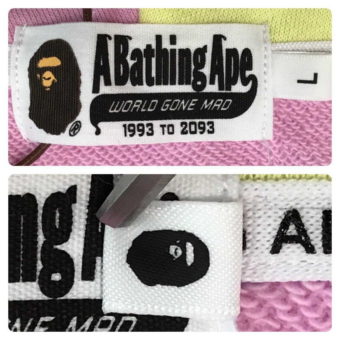 ★新品★ milo shark full zip hoodie Lサイズ a bathing ape BAPE マイロ シャーク パーカー エイプ ベイプ アベイシングエイプ 6233
