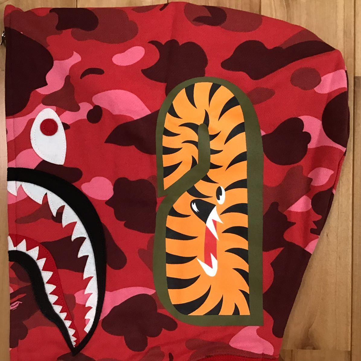 ★新品★ kanye west着用 青山限定 シャーク パーカー Lサイズ shark full zip hoodie a bathing ape bape ベイプ エイプ pharrell camo 62
