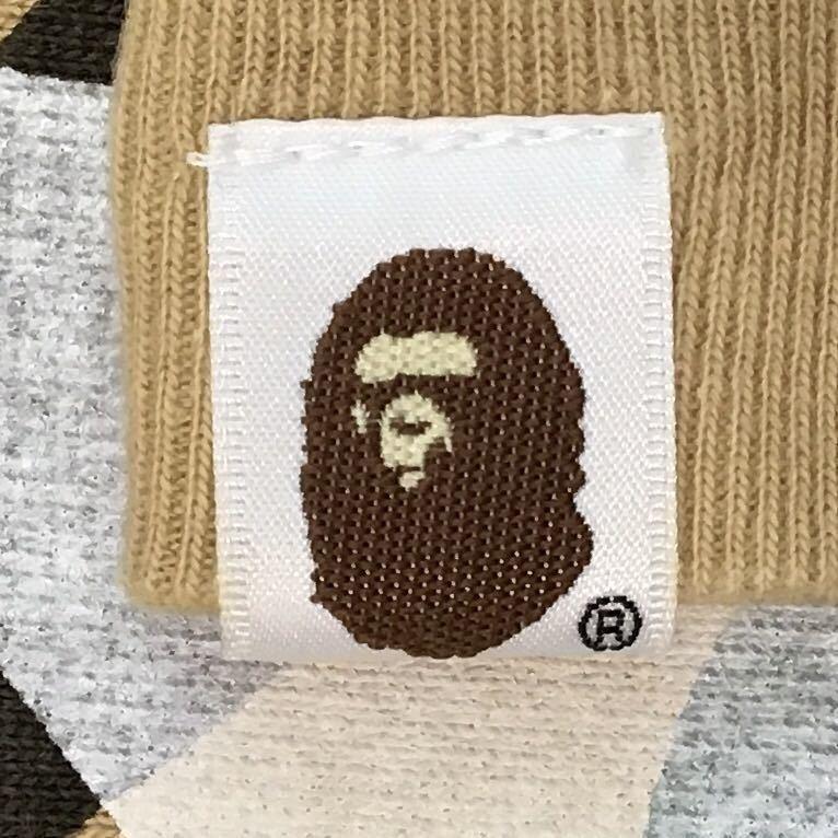 1st camo yellow スター 長袖スウェット Mサイズ a bathing ape bape sta sweat star エイプ ベイプ アベイシングエイプ 迷彩 1215