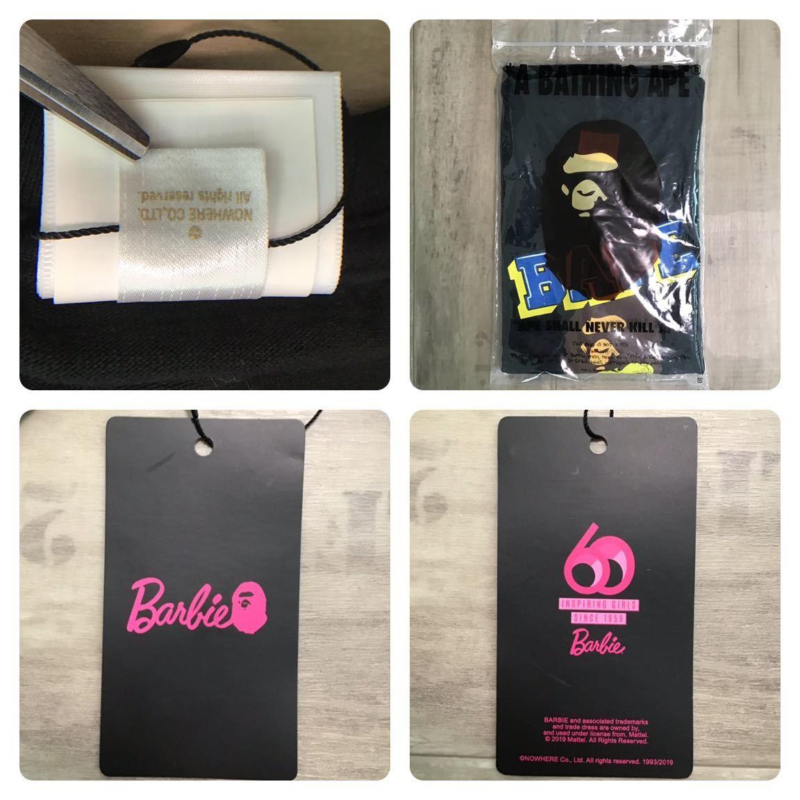 ★新品★ Barbie × BAPE Tシャツ レディース Sサイズ バービー a bathing ape ladies エイプ ベイプ アベイシングエイプ
