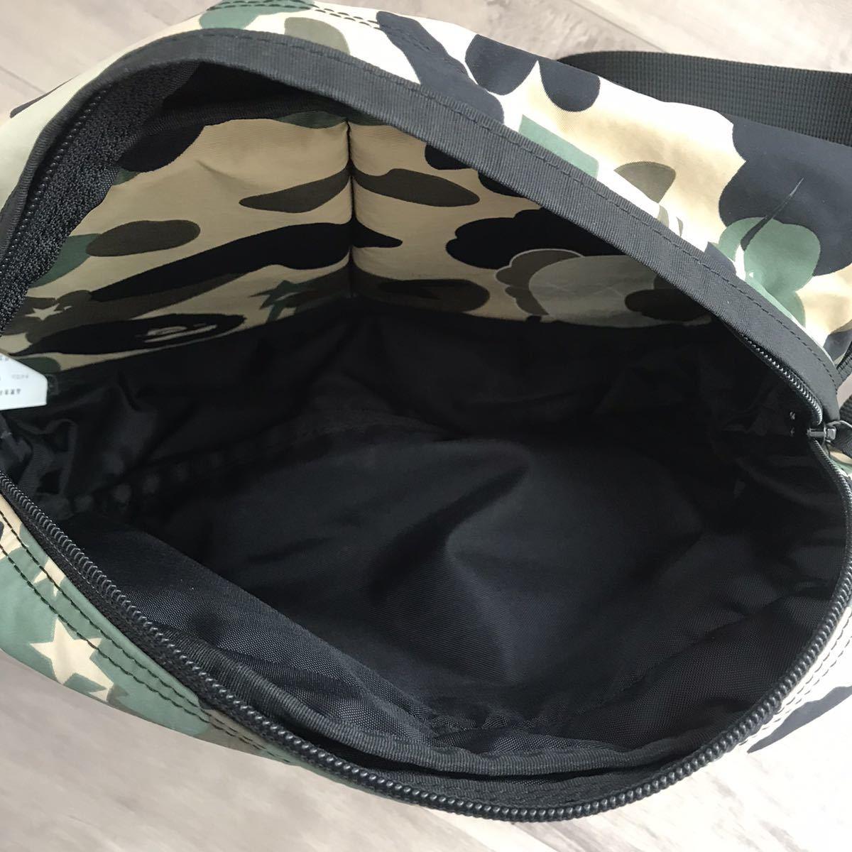 ★激レア★ kaws 1st camo ウエスト バッグ a bathing ape bape カウズ エイプ ベイプ アベイシングエイプ waist bag ウエストポーチ 3231