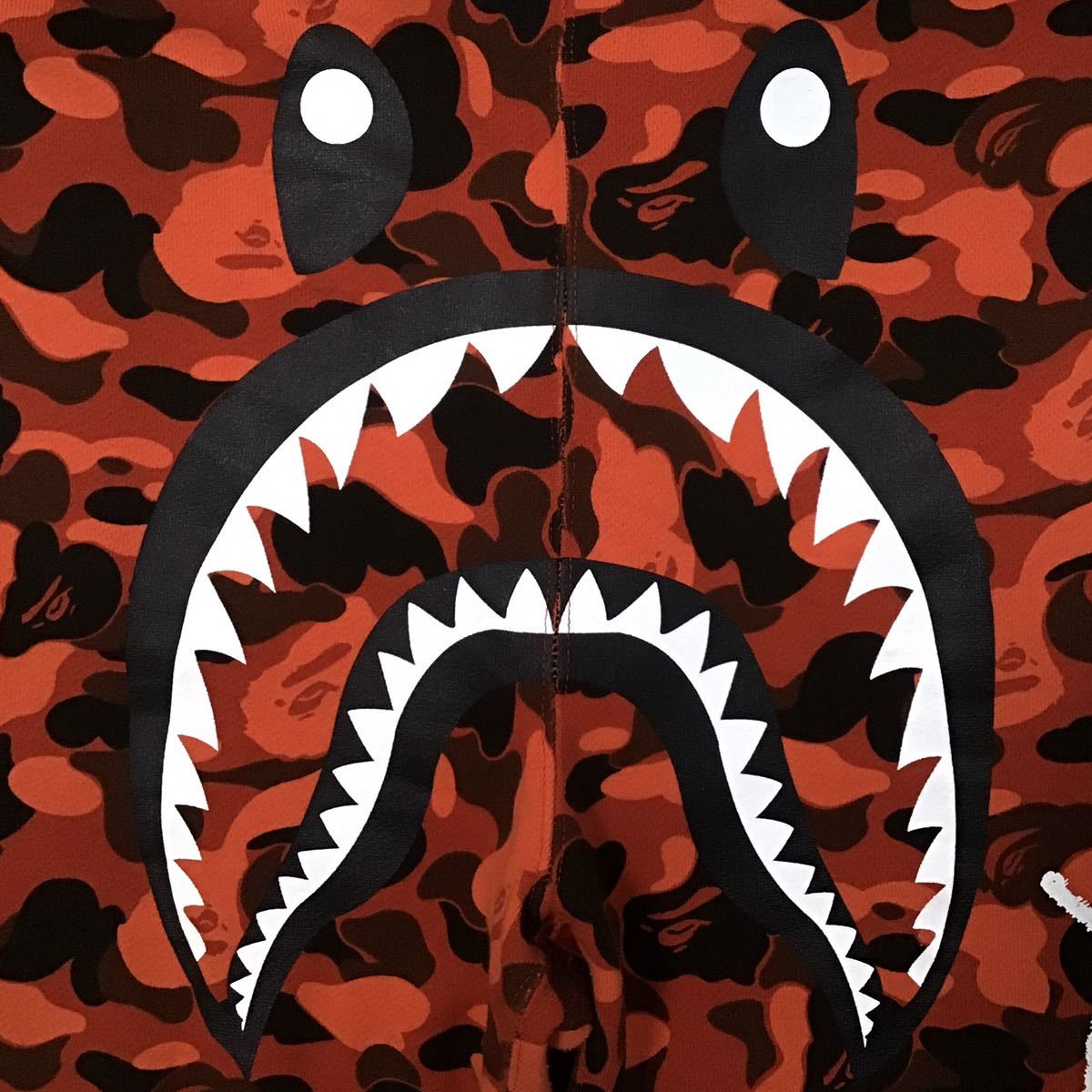 ★激レア★ XO × BAPE シャーク スウェットパンツ Lサイズ a bathing ape The Weeknd shark sweat pants エイプ ベイプ red camo 迷彩 313