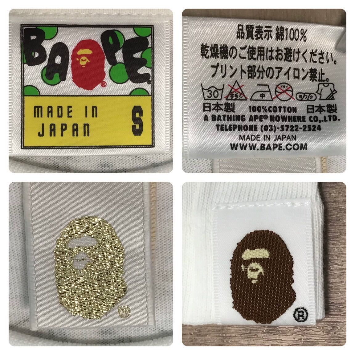 ★新品★ クロムハーツ × bape Tシャツ Sサイズ a bathing ape Chrome Hearts エイプ ベイプ アベイシングエイプ milo マイロ nigo 58gd