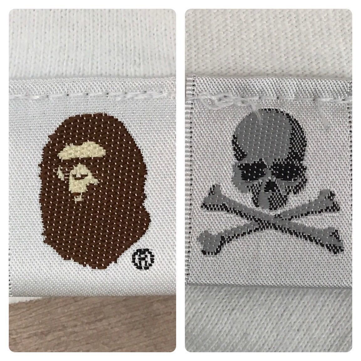 ★XXL★ mastermind × bape Tシャツ マスターマインド a bathing ape エイプ ベイプ アベイシングエイプ MMJ Skull camo 迷彩 nigo 2XL oc