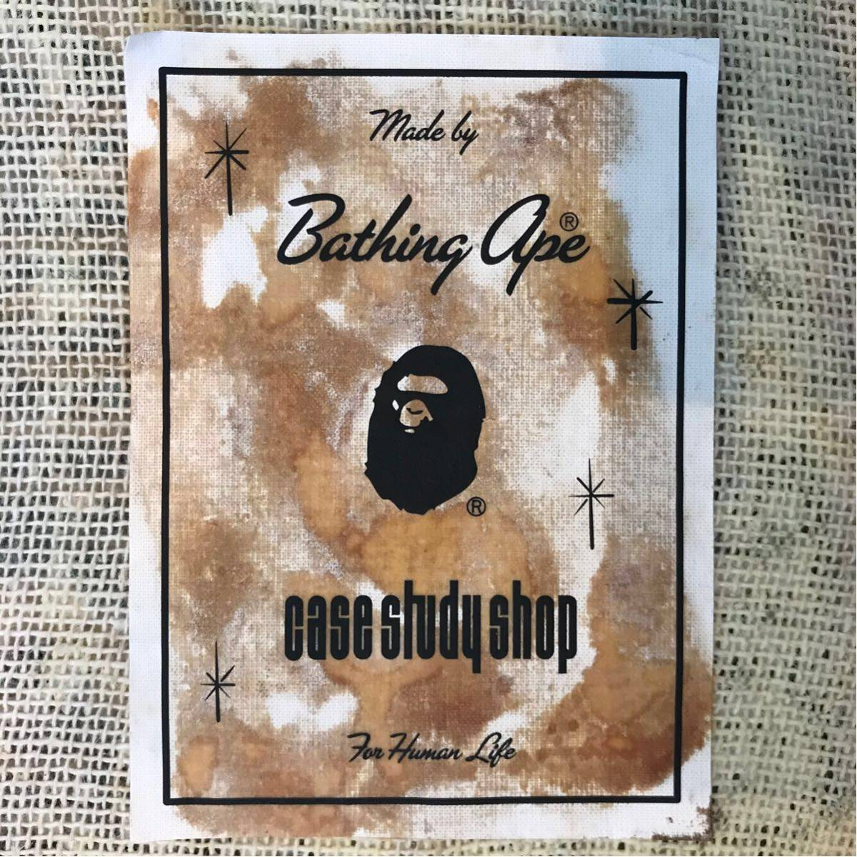 MODERNICA × BAPE CAMO 特大 ラグ マット a bathing ape モダニカ エイプ ベイプ CASE STUDY SHOP 絨毯 アベイシングエイプ NIGO 迷彩
