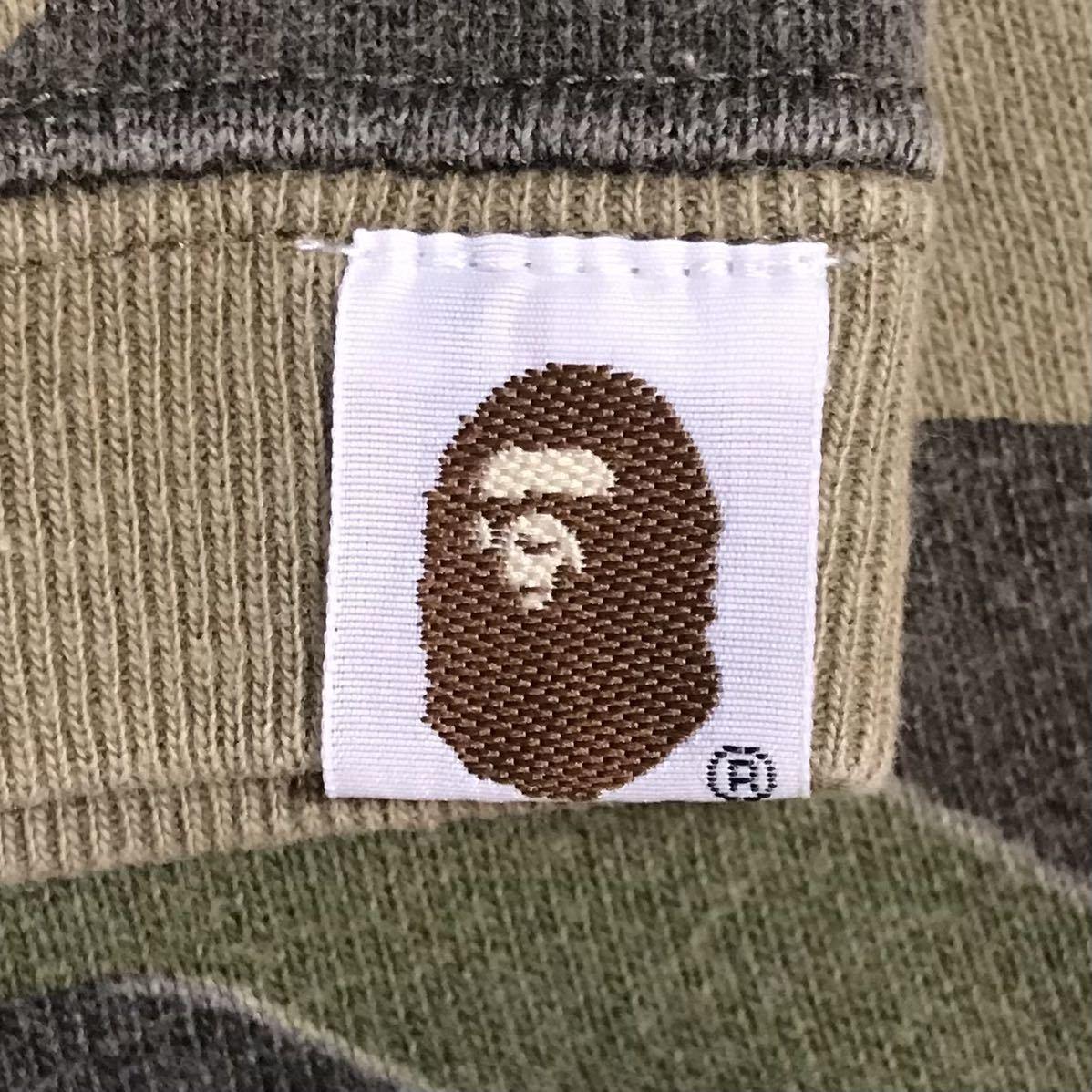 kaws × bape 半袖 スウェット Sサイズ bendy 1st camo green a bathing ape sweat エイプ ベイプ アベイシングエイプ 迷彩 6353