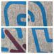 ★リバーシブル★ pharrell camo 長袖 スウェット a bathing ape bape エイプ ベイプ red neon カレッジロゴ reversible college logo 2512