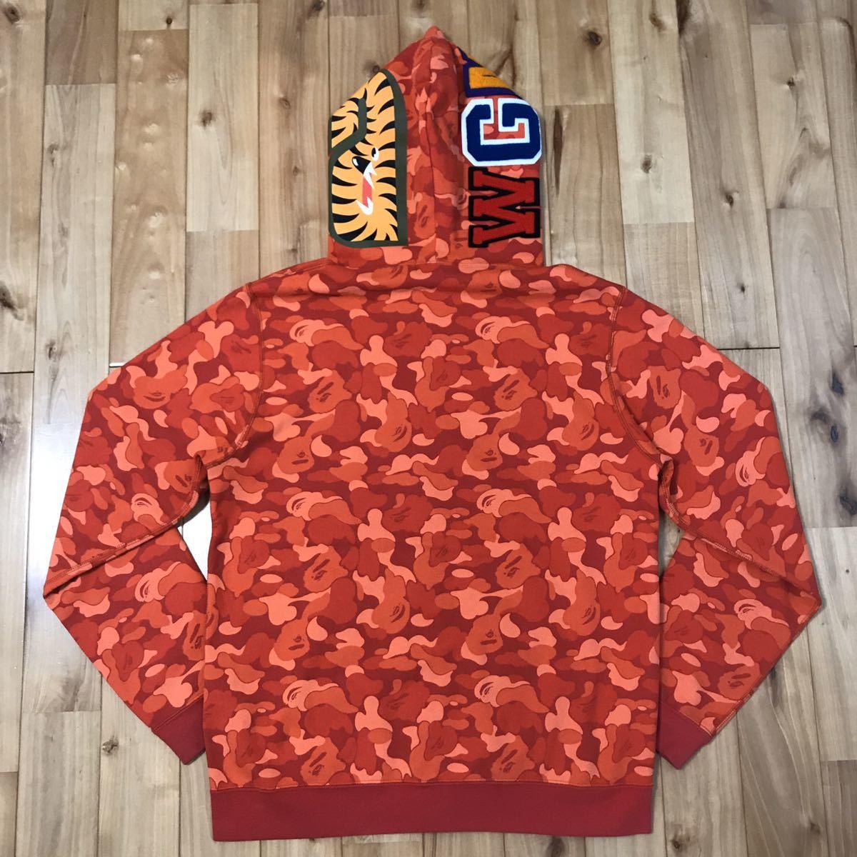 ★ソウル限定★ Seoul city camo シャーク パーカー Lサイズ shark full zip hoodie a bathing ape BAPE エイプ ベイプ 都市限定 迷彩 nigo