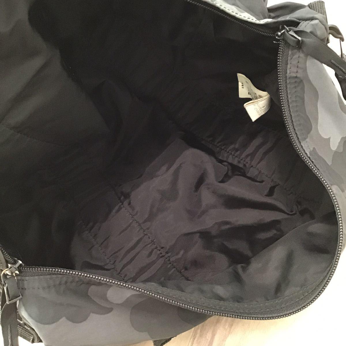 black camo ボストン バッグ a bathing ape bape ブラックカモ エイプ ベイプ アベイシングエイプ Boston bag 迷彩 0896